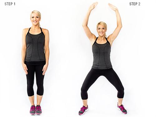 7 bài tập đơn giản giúp giảm cân chỉ trong vòng 1 tuần