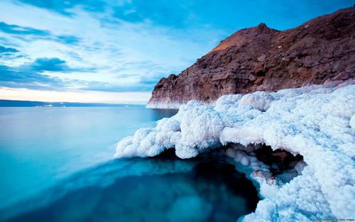 Biển Chết - Nguồn muối khoáng diệu kỳ đối với sắc đẹp.