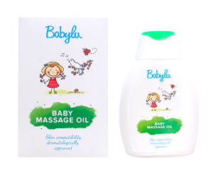 DẦU MASSAGE CHO TRẺ SƠ SINH VÀ TRẺ NHỎ BABYLU BABY MASSAGE OIL 250ml