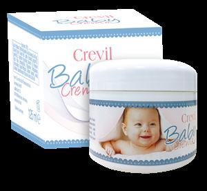 KEM CHỐNG HĂM, CHỐNG NẺ, BẢO VỆ DA TRẺ EM CREVIL BABY CREAM