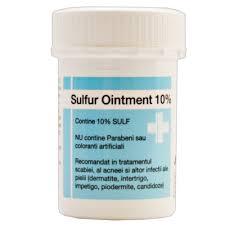 SULFUR OINTMENT 10% - ĐẶC TRỊ MỤN SULFUR 10%