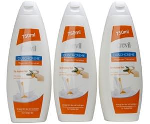 Sữa tắm dưỡng da cao cấp crevil 750ml - tinh chất mật ong