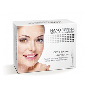 NanoDerma® CLT10-Caviar Lifting Treatment Ampoules
