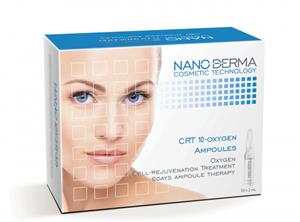 Huyết thanh trẻ hóa tế bào - Nanoderma CRT 10 Oxygen Ampoules
