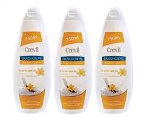 Sữa tắm dưỡng da cao cấp crevil 750ml - tinh chất vanille