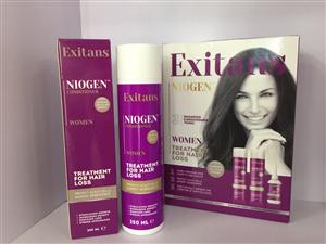 BỘ GỘI, XẢ TONIC CHO NGƯỜI TÓC RỤNG, TÓC THƯA FEXITANS NIOGEN™  CONDITIONER WOMEN TREATMENT FOR HAIR LOSS